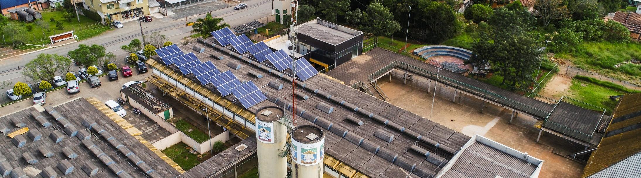 Energia solar na prefeitura de Curitiba