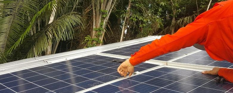 Empresa instala 2 mil painéis fotovoltaicos em 5 anos
