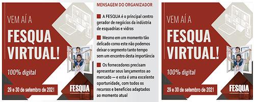 FESQUA VIRTUAL ACONTECE EM SETEMBRO DE 2021